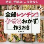 【金スマ】作りおきダイエットのやり方や効果は?レシピ本も!