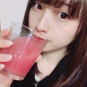 永井理子もレッドスムージーを愛飲