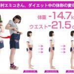 たんぽぽ川村エミコのダイエット方法!酵水素サプリが激やせの鍵